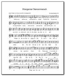 Wangemer Narrenmarsch